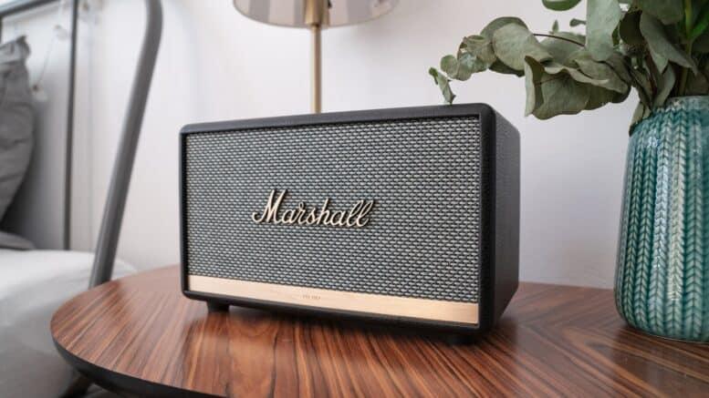Marshall Bluetooth højtaler bordmodel